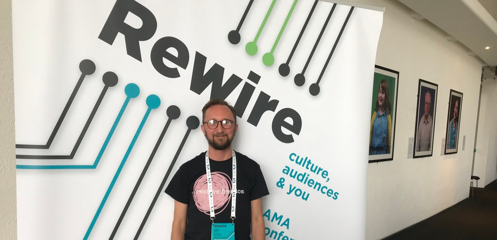 Colin at the AMA conference
