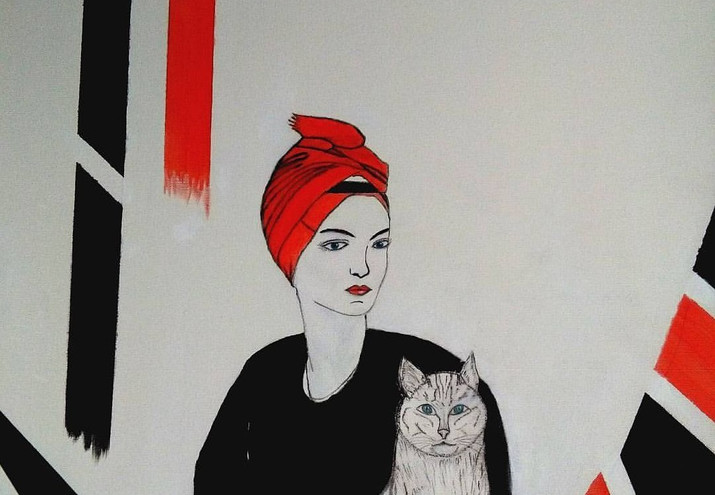 Anima felina  opera n.6/2017