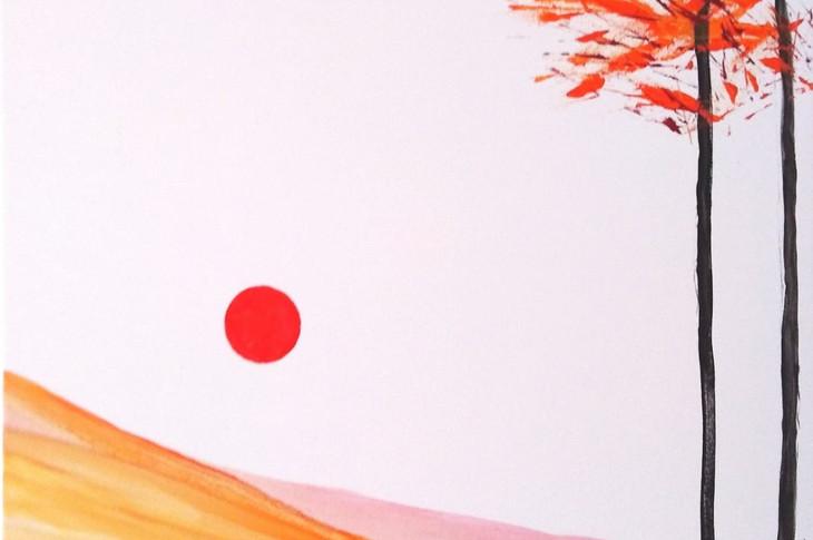RED LANDSCAPE, Opera n.2/2019