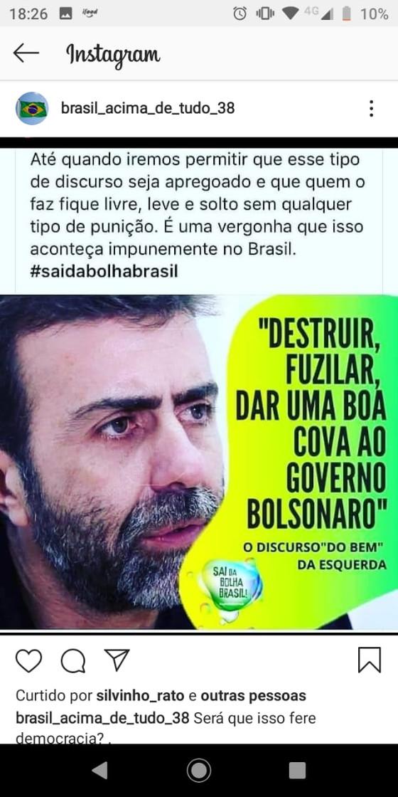 Checamos: Freixo não afirmou que deveria destruir, fuzilar e dar uma boa cova ao governo Bolsonaro.