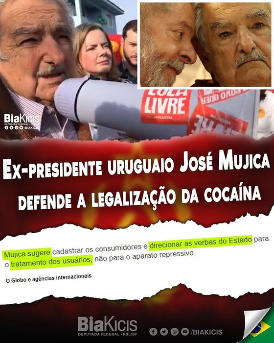 #Checamos: É descontextualizada a afirmação de que Pepe Mujica apoiaria a legalização da cocaína