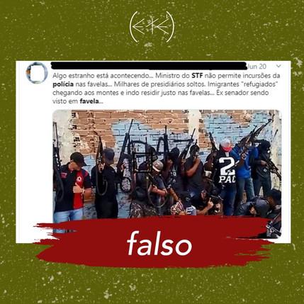 Entenda decisão do STF que impede operações policiais nas favelas do Rio durante a pandemia