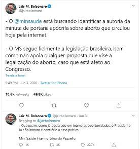 Portaria do Ministério da Saúde pretendia legalizar o aborto no Brasil durante a pandemia? É falso!