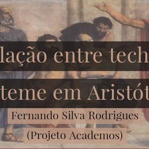A relação entre techné e episteme em Aristóteles