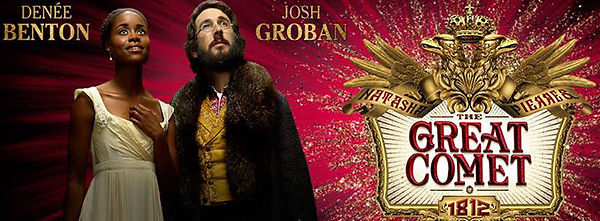 Great Comet Josh Groban Denee Benton Broadway Producer
