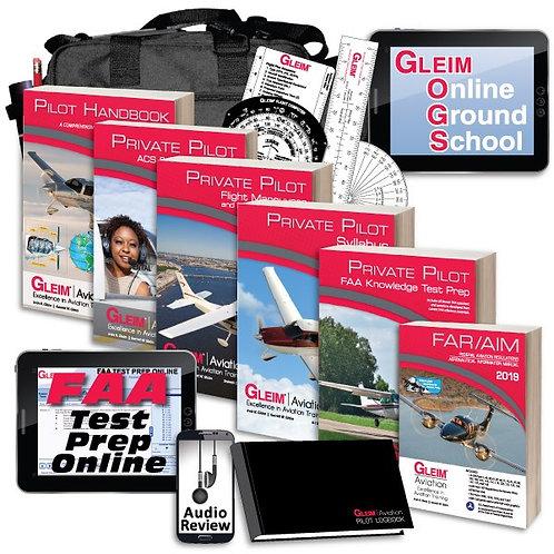 Gleim Deluxe Private Kit w/Audio Review