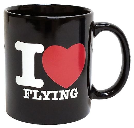 Coffee Mug - I Love Flying