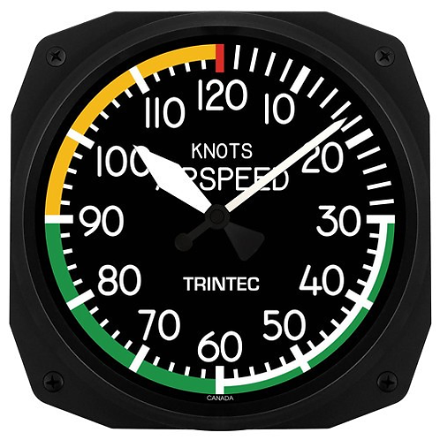 """10"""" Airspeed Instrument Style Clock"""