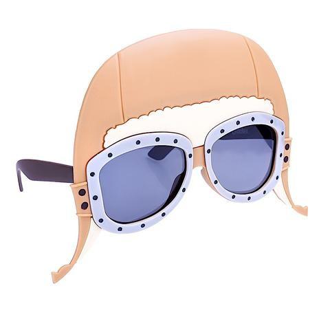 Sun-Stache Aviator Glasses/Hat