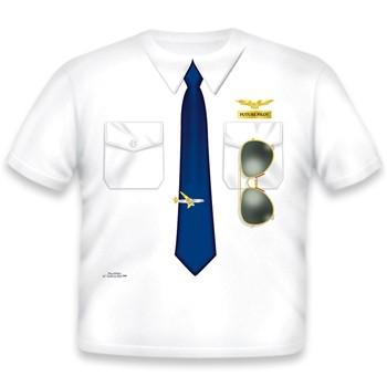 Toddler Tee Shirt - Pilot Shirt