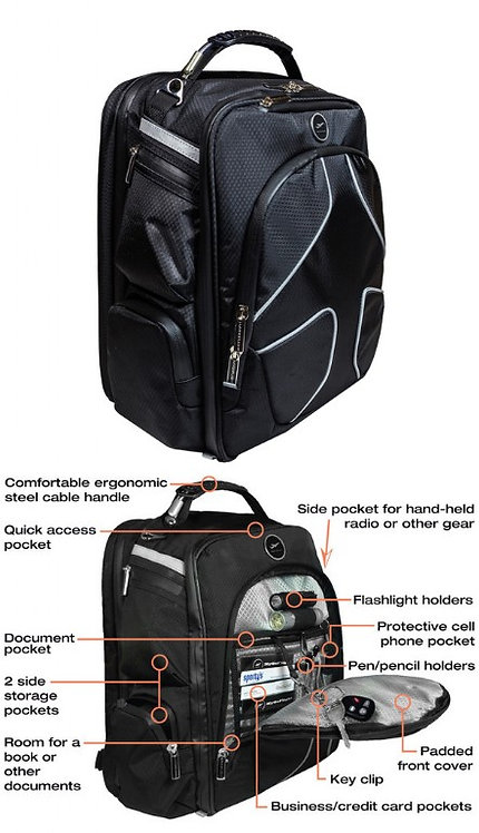 MyGoFlight PLC Pro Flight Bag