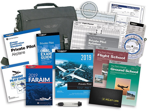 ASA Private Flight School Kit