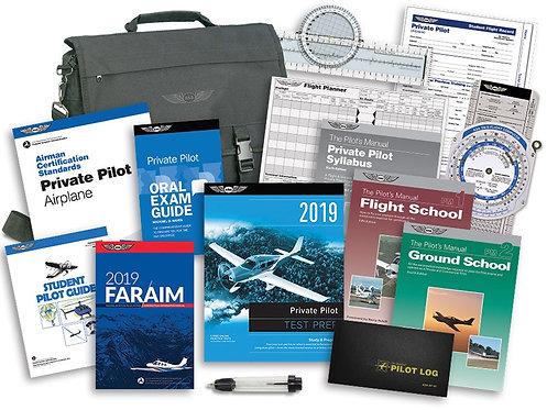 ASA Private Flight School Kit