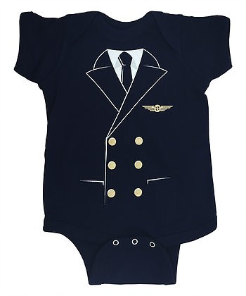 Baby Pilot Uniform Onesie