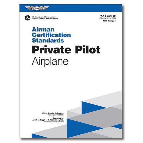 ACS Private Pilot Airplane
