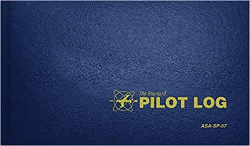Pilot Logbook - Blue