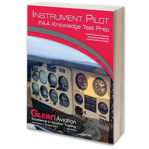 GLEIM 2020 Instrument Pilot Knowledge Test