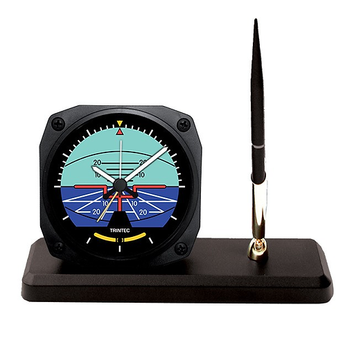 Classic Artificial Horizon Desk Pen Set
