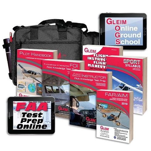 Gleim Sport Pilot Flight Instructor Kit