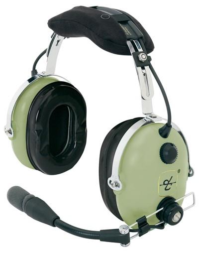 David Clark H10-60C Coil Cord Headset