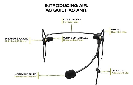 FARO Air: In-Ear Aviation Headset