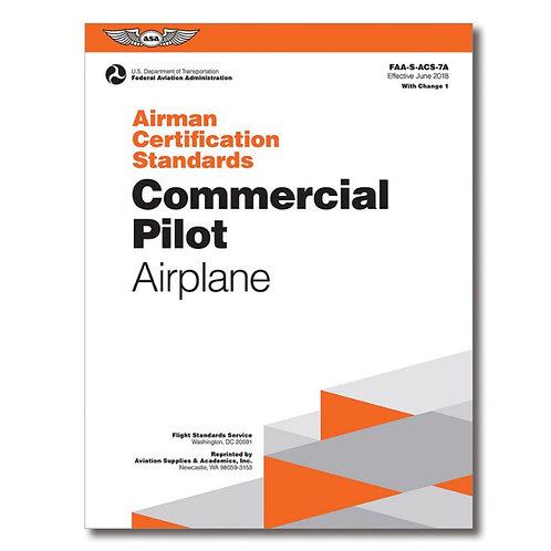 ACS Commercial Pilot Airplane