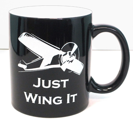 "Coffee Mug - ""Just Wing It"""