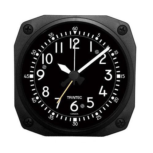 Classic Cockpit Style Desk Model Alarm Clock