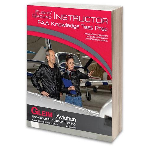 GLEIM 2020 Flight/Ground Instructor Knowledge Test