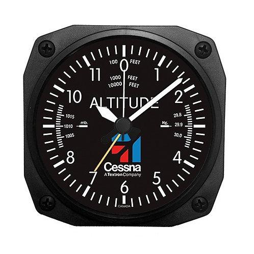 Cessna Altimeter Desk Model Alarm Clock