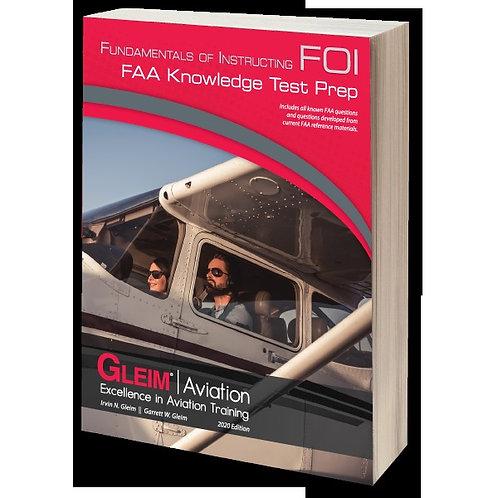 GLEIM 2020 Fundamentals of Instructing Knowledge Test
