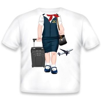 Toddler Tee Shirt - Flight Attendant
