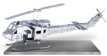 3-D Laser Cut Model - Helicopter