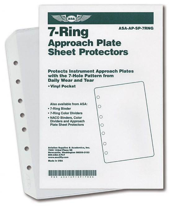 7-Ring Sheet Protector 10 Pack