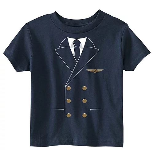 Kid's Pilot Uniform Tee Shirt
