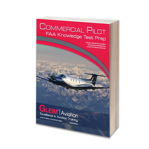 GLEIM 2020 Commercial Pilot Knowledge Test