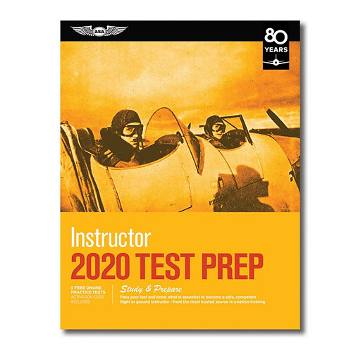 ASA 2020 Instructor Test Prep