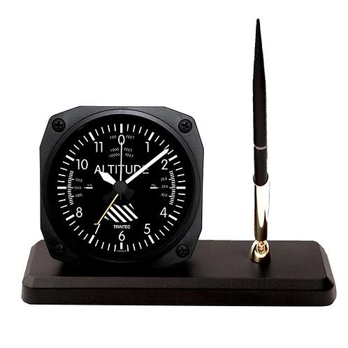 Classic Altimeter Desk Pen Set