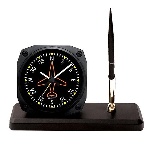 Classic Directional Gyro Desk Pen Set