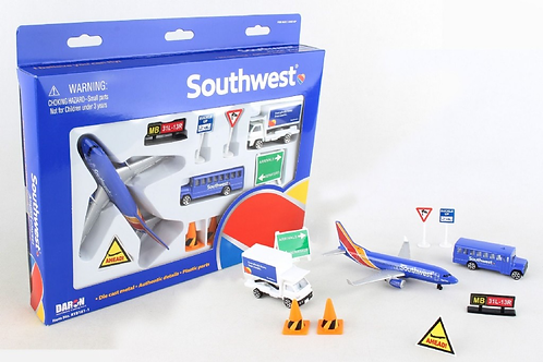 Airport Playset - Southwest Airlines