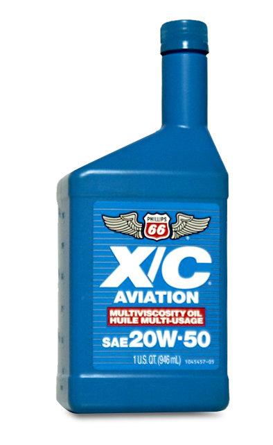 Phillips 66 X/C Aviation Oil 20W50