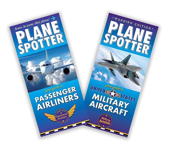 Plane Spotter Cards