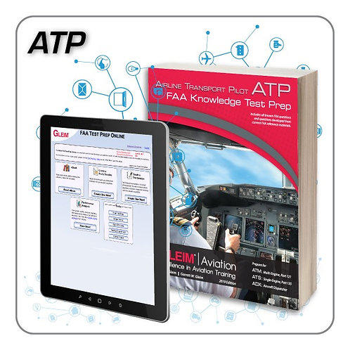 GLEIM 2020 ATP Knowledge Test Prep Online and Book Set