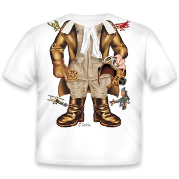Toddler Tee Shirt - Pilot Ace