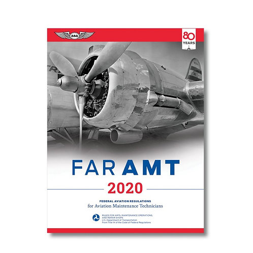 ASA FAR|AMT Federal Aviation Regulations for Aviation Maintenance Technicians