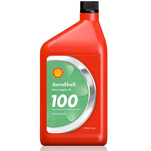 Aeroshell Aviation Oil 100 SAE 50 Mineral Oil