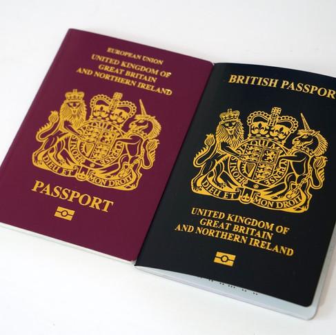 外國人在英國的暫時身分證-BRP卡介紹