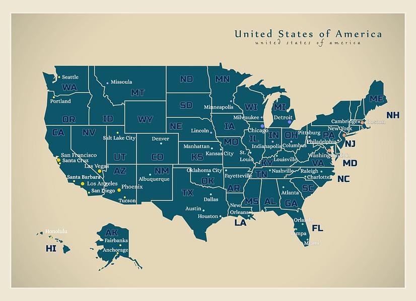美國城市地圖(含州名).png