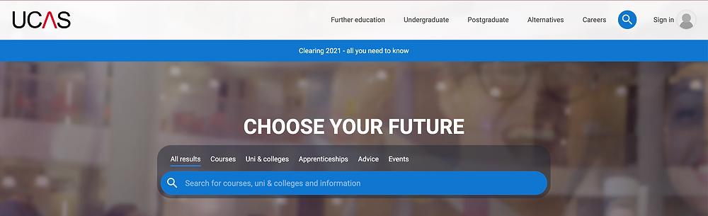 UCAS是英國統一申請大學的線上系統,學生無法直接向大學做申請