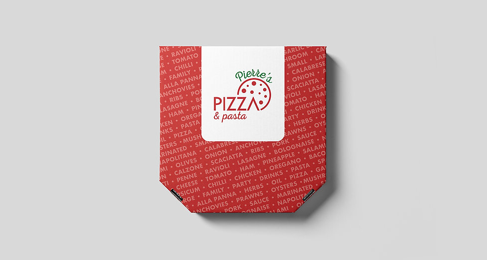 Dani Larosa Design - Pierre's Pizza